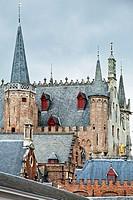 Stadhuis, Town Hall, Brugge, Bruges, Flanders, Belgium.