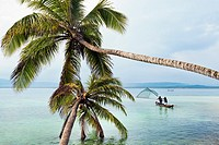Kuna Kodup island, San Blas Islands also called Kuna Yala Islands, Panama.