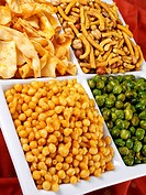 Indian Snack Selection