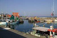 Der Hafen von Svaneke auf Bornholm