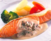 Meuniere of Salmon