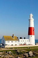 UK, England, Dorset, Portland Bill lighthouse