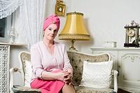 Senior Woman in Living Room