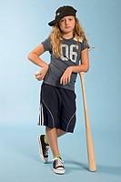 Baseball Girl from Funky Kids Series by Josh Gosfield