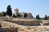 Ruinas de Empuries, archaeological excavations and museum, L´Escala, Costa Brava, Catalonia, Spain, Europe, Ruinas de Empuries, archaeologische Ausgra...