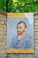 Saint Paul de Mausole monastery, mental hospital, stay of Vincent Van Gogh, museum, Saint Remy de Provence, Provence_Alpes_Cote d´Azur, France, Europe...