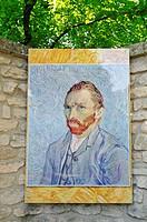 Saint Paul de Mausole monastery, mental hospital, stay of Vincent Van Gogh, museum, Saint Remy de Provence, Provence_Alpes_Cote d´Azur, France, Europe...