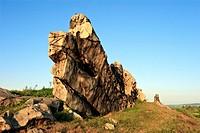 Nature Reserve Devil´s Wall Teufelsmauer, Harz District, Harz, Saxony_Anhalt, Germany / Naturschutzgebiet Teufelsmauer, Landkreis Harz, Harz, Sachsen_...