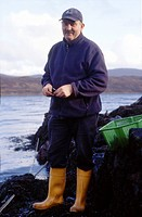 Mussels Farmer by Loch
