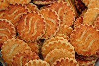 Biscuits at a French market, Chichester