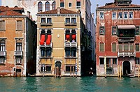 Venetian Palazzos on the Grand Canal