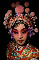 Chinese Opera Performer in Costume