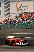 Felipe Massa BRA, Scuderia Ferrari, F1, Indian Grand Prix, New Delhi, India