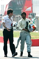 Narain Karthikeyan IND, HRT Formula One Team, F1, Indian Grand Prix, New Delhi, India
