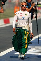 Heikki Kovalainen FIN, Team Lotus, F1, Indian Grand Prix, New Delhi, India