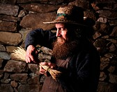 Appalachian Broom Craftsman