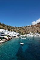 View to Loutro, Chania Prefecture, Crete, Greece