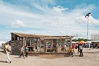 Andrew T Cross of An_Architecture creates a temporary bar and pavilion for London Pleasure Gardens 2012