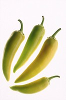 Four fresh peppers