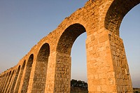OLD OTTOMAN TURKISH AQUADUCT LOHAMEI HAGETAOTT KIBBUTZ ACCO ISRAEL