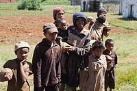 Afrikanische Kinder, Madagaskar, Afrika
