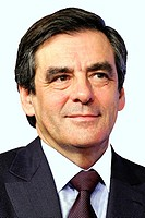 Francois Fillon _ *04.03.1954: Franzoesischer Premierminister seit 2007. Portrait von 2011. Francois Fillon _ * 04.03.1954: French Prime Minister sinc...