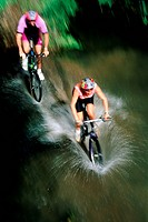 Mountain biking _ Queensland, Australia