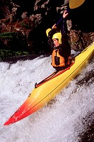 Daring Kayaker