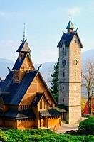 Karpacz Kirche Wang _ Karpacz church Vang 02