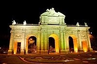 Puerta de Alcala,Madrid Spain