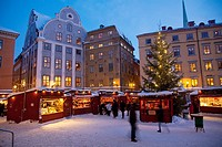 Christmas Fair ,Old Town,Stockholm