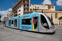 Tram ,Sevilla Spain