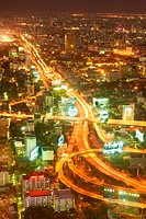 Thailand - Bangkok, view from Bayoke Sky Tower
