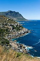 Coastline north of Llandudno, Southern Cape region, South Africa, Africa