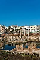 Seraphide Roman Temple, Macellum, Temple Pozzuoli, Puteoli, Naples, Campania, Italy, Europe