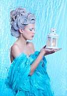 frozen fairy with lantern