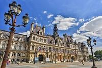 France , Paris City, City Hall Bldg