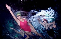 Women Freestyle Swimming