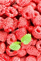 Detail of raspberries (thumbnail)