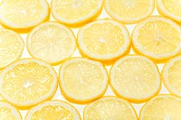 Detail of lemon slices