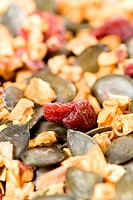 Detail of muesli
