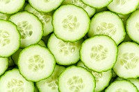 Detail of cucumber slices