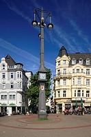 D-Dortmund, Ruhr area, Westphalia, North Rhine-Westphalia, NRW, D-Dortmund-Hoerde, market place, clock tower ´Schlanke Mathilde´, slim Mathilde, clock...