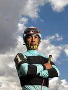 Jockey in Silks