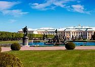 Peterhof Grand Palace in Russia