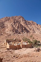 The Monastery of Saint Catherine in the Sinai desert, Egypt