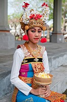 portrait of a woman of Indonesia