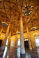 La Lonja de la Seda  Silk Exchange  World Heritage Site by UNESCO  16th century  Valencia  Comunidad Valenciana  Spain.