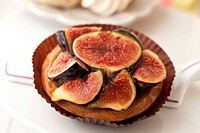 Mini Glazed Fig Tart