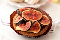 Mini Glazed Fig Tart